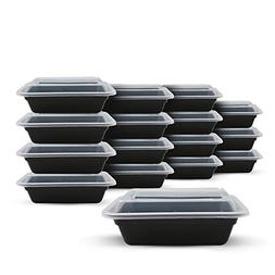Fitpacker SMALL Meal Prep Containers - Plastic Stackable Reu