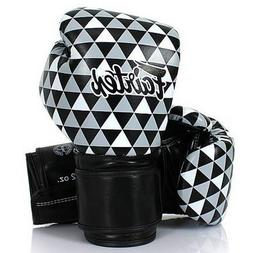 FAIRTEX MUAY THAI KICK BOXING GLOVES BGV14B OP ART - PRISM 1