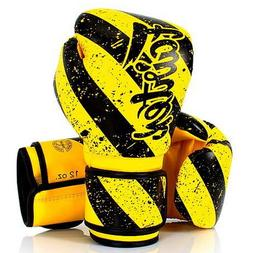 FAIRTEX MUAY THAI KICK BOXING GLOVES BGV14Y GRUNGE ART - MID