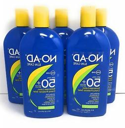 NO-AD 5-Pack Sun Protection SPF 50 Sunscreen Water Resistant