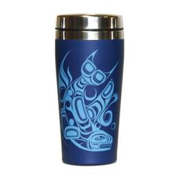 Native Northwest Orca 16 oz Travel Mug