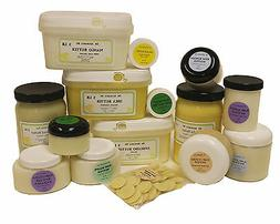 Organic Butters 100% Pure RAW Fresh Natural 2oz 4 oz  up to