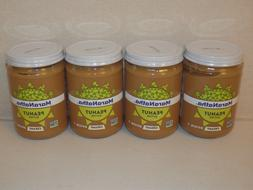 Maranatha Organic Creamy Peanut Butter lot of 4 Jars