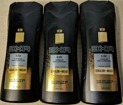 Axe Gold Oud Wood & Fresh Vanilla, Clean & Relaxed Body Wash