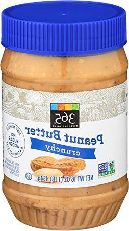 365 Everyday Value, Peanut Butter Crunchy, 16 Ounce
