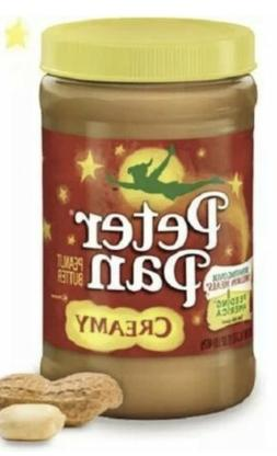 Peter Pan Creamy Peanut Butter 16oz Jar