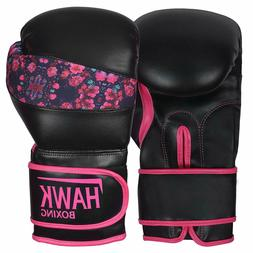 pink boxing gloves women training sparring kickboxing