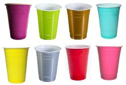 plastic disposable 16oz cups 100 pack great