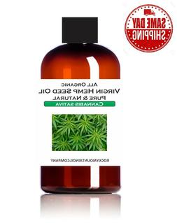 PREMIUM SELECT ORGANIC HEMP SEED OIL PURE & NATURAL 1 2 4 8