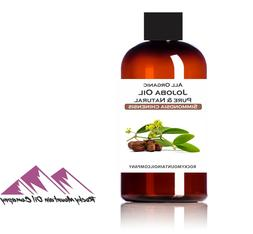 PURE UNREFINED ORGANIC GOLDEN JOJOBA OIL VIRGIN COLD PRESSED