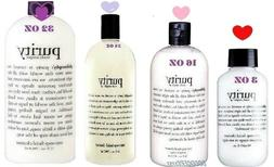 PHILOSOPHY PURITY MADE SIMPLE CLEANSER 32 OZ- 24 OZ-16 OZ-
