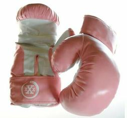 Triple Threat Quick Strap Fitness Training Boxing Gloves - P