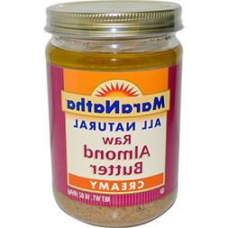 MaraNatha, Raw Almond Butter, Creamy, 16 oz  - 2pcs