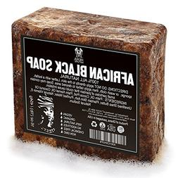 Best Raw ORGANIC AFRICAN NATURAL BLACK SOAP, for Acne Treatm