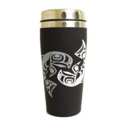 16 oz Salmon Travel Mug