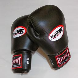 Twins Special Sparring Gloves - 16 oz black  FREE SHIPPING