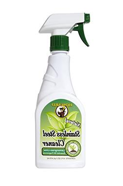 Howard SS5012 Natural Stainless Steel Cleaner, 16-Ounce, Lem