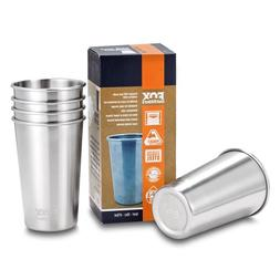 Fox Outfitters 16oz Stainless Steel Pint Cups