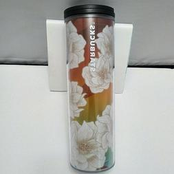Starbucks Summer 2019 Tumbler Cactus Flower Multi Color 16 o