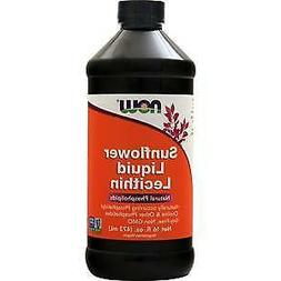 Now Foods Sunflower Liquid Lecithin, 16 Ounce