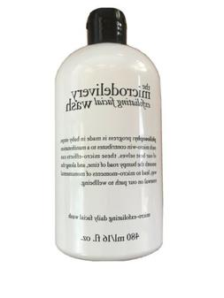 PHILOSOPHY THE MICRODELIVERY EXFOLIATING FACIAL WASH 16 OZ N