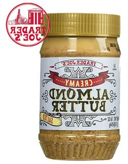 Trader Joe's Creamy Almond Butter Saltead 16oz speculoos coo