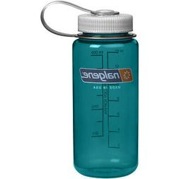 Nalgene Wide Mouth Water Bottle, 1-Pint, Trout Green